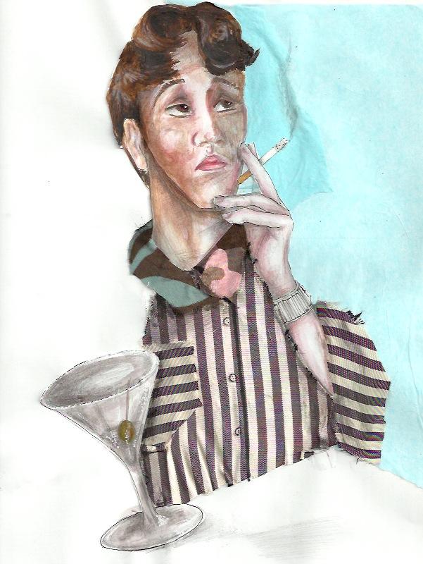 Edward Smoking