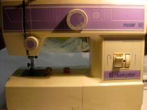 Jackie Mallon's sewing machine