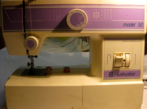 Jackie Mallon's sewing machine
