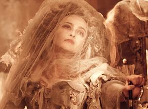 Helena Bonham Carter as Miss Havisham from Great Expectations