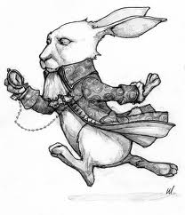 Lewis Carroll's The White Rabbit