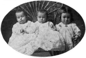 Victorian babies in all their frills