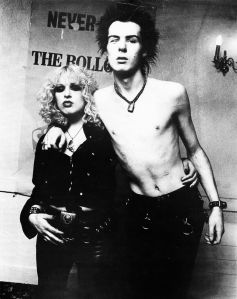 Nancy with Sid Vicious
