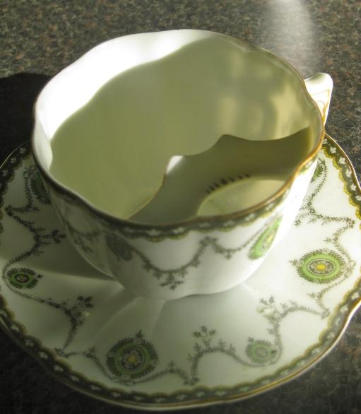 A moustache cup