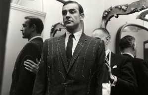 Sean Connery, his favorite Bond, had his suits made in Savile Row