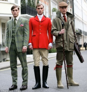 Savile Row tends to all a gentleman's wardrobe needs