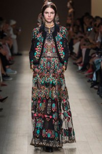 Valentino embroidered outfit