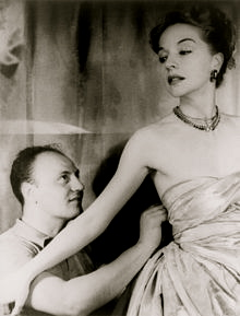 Pierre Balmain fitting a client