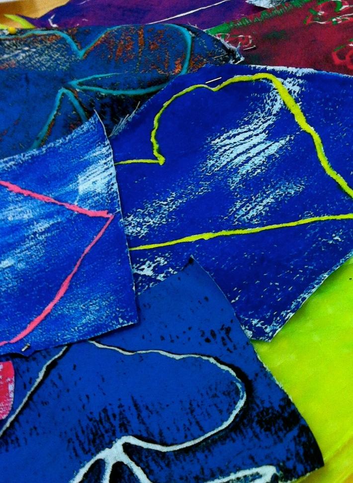 Sara's fabric manipulation