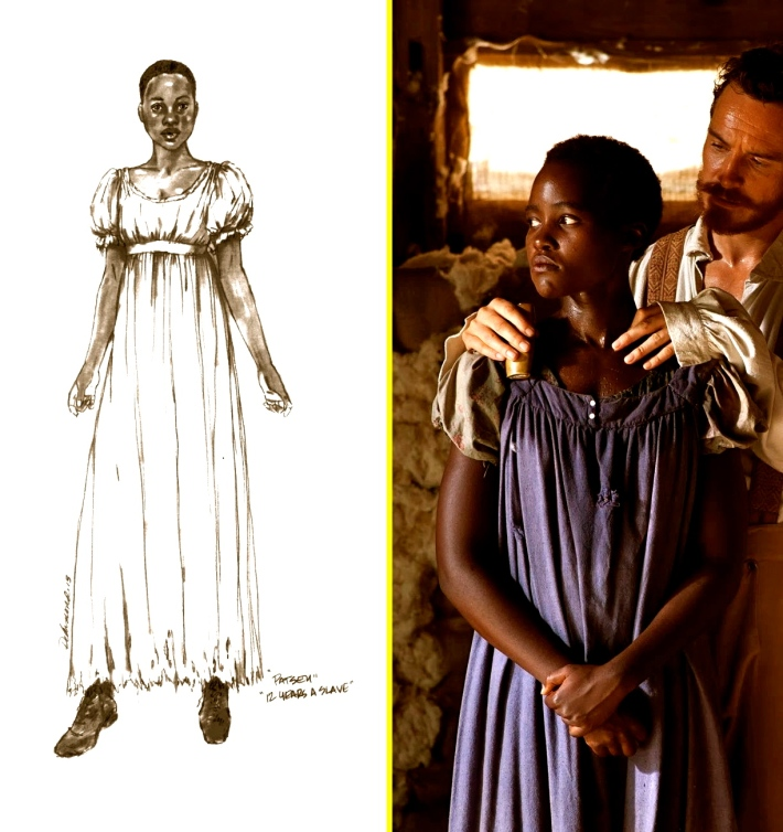 12 years a slave costume design nomination