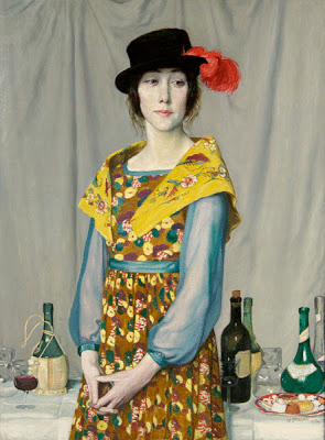 Vita Sackville West painted by English painter William Strang