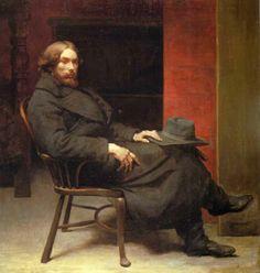 Augustus John by William Orpen