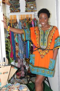 This Cameroonian's colorful closet