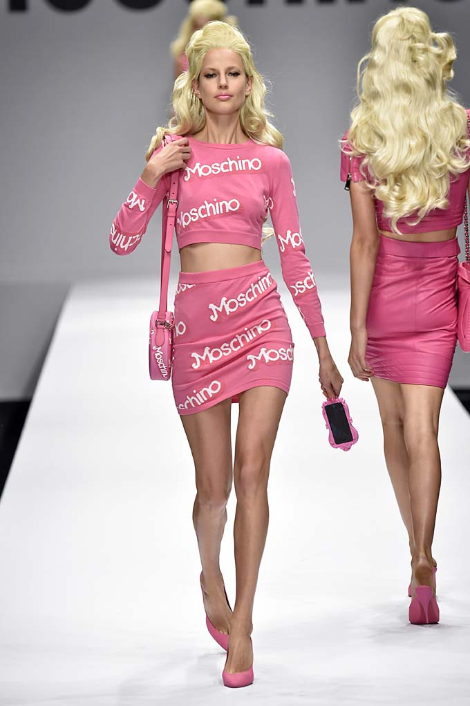 Moschino Milan Fashion Week Spring Summer 2015 September 2014