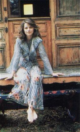Charlotte Rampling in Ossie Clark