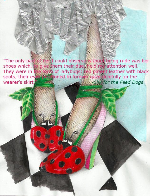 Ladybug Shoes 2