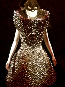Alexander McQueen dress from